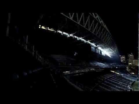 Dubstep gaismas stadionā