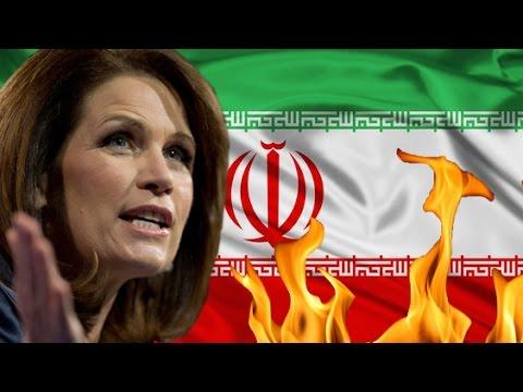 Michele Bachmann Tells Obama to Bomb Iran