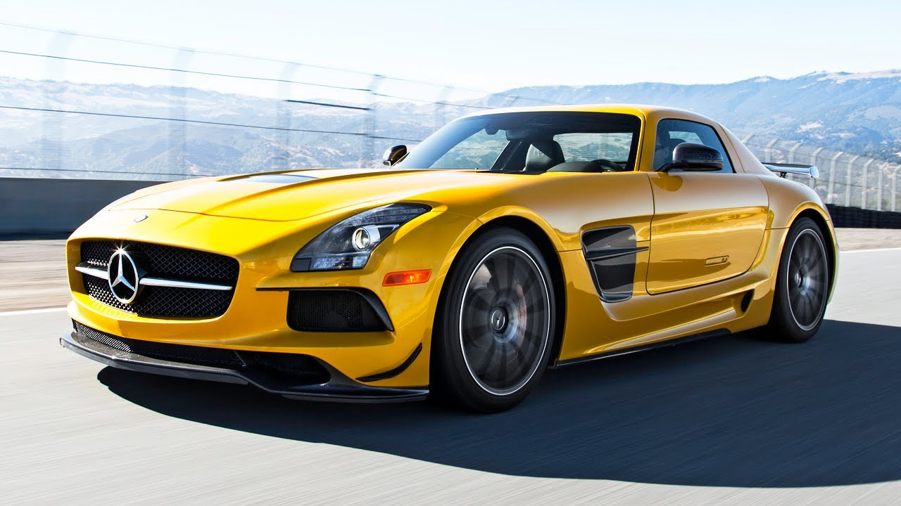 2014 Mercedes Benz Sls Amg Black Series Hot Lap 2013
