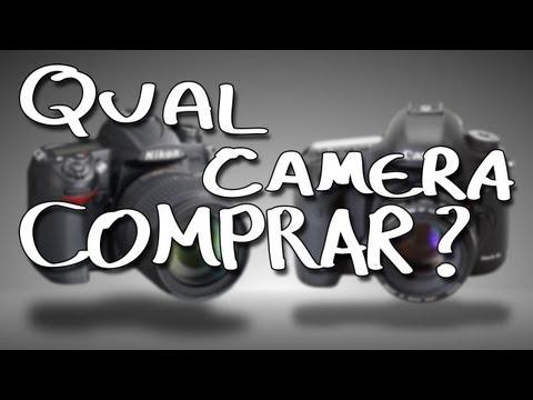 Fotografia - Qual câmera devo comprar Câmeras para iniciantes
