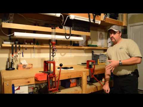 Beginning Reloading, Video 1, Press, Hornady and RCBS  Make Great Starter Kits, See Description Box