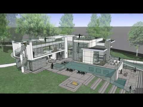 Summit house beverly hills ca youtube for Summit homes floor plans