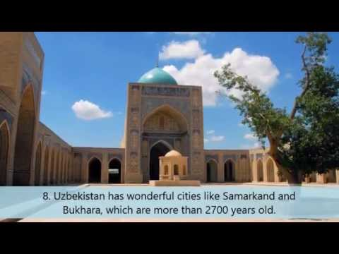 10 facts about Uzbekistan
