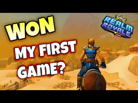 I Won My First Game? Realm Royale Mage Solos