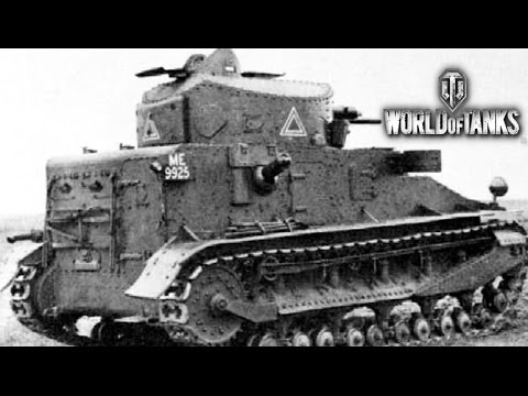 World of Tanks:Великобритания - Vickers medium mk i