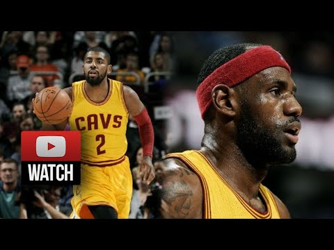 Kyrie Irving & Lebron James Full Highlights vs Mavericks (2014.10.17) - 35 Pts 4 Blks Total!