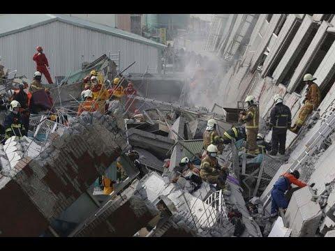 Pair Of Earthquakes Strike Off Taiwan's Coast: USGS