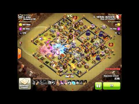 Clash of Clans - How To Easy 2 Star Th11