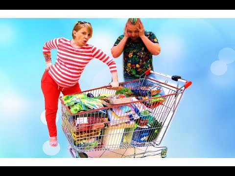Квест Челлендж для родителей Беременная Мама в МАГАЗИНЕ Николь и Алиса  Challenge Pregnant Mom