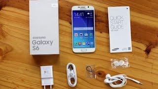 Samsung Galaxy S6 Présentation & Unboxing en français
