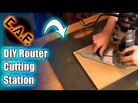 You NEED this DIY tool - Router Cutting Station - Car Audio Fabrication
