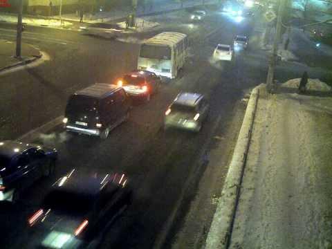 Белгород ДТП Удар в борт