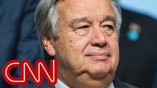 UN chief on Trump