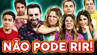 NÃO PODE RIR! com QUEM DUBLA(Bruna Laynes, Ana Elena, Matheus Perisse, Erika Menezes e Manolo Rey)