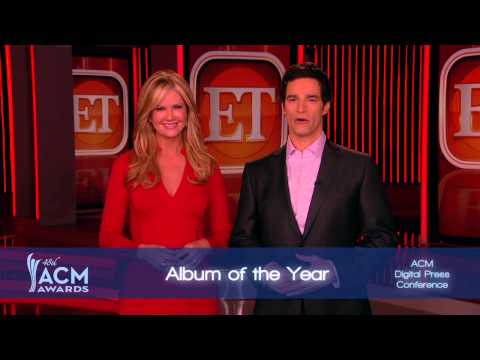 2013 ACM Awards Album of the Year Nominees Presented by Nancy O'Dell and Rob Marciano