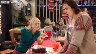 Miranda battles with the automated operator - Miranda, Series 2 Episode 6 - BBC Two