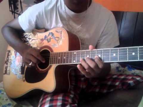 Kannada song Guitar tabs --maleyali jotheyali