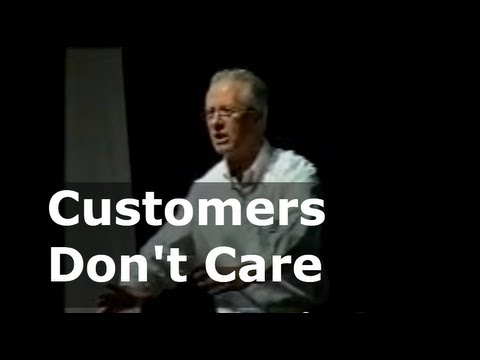The customer doesn't care why it went wrong - Customer Complaints | Colin Bockman