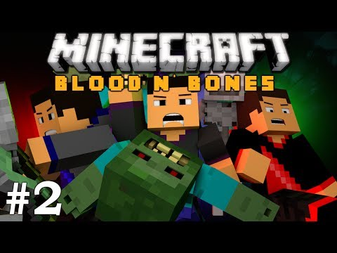 Minecraft: FTB Blood n' Bones Adventure! Ep. 2 - Confused Crafting??