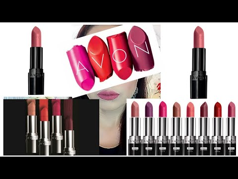 AVON TRUE COLOR ULTRA MATTE MI COLECCION