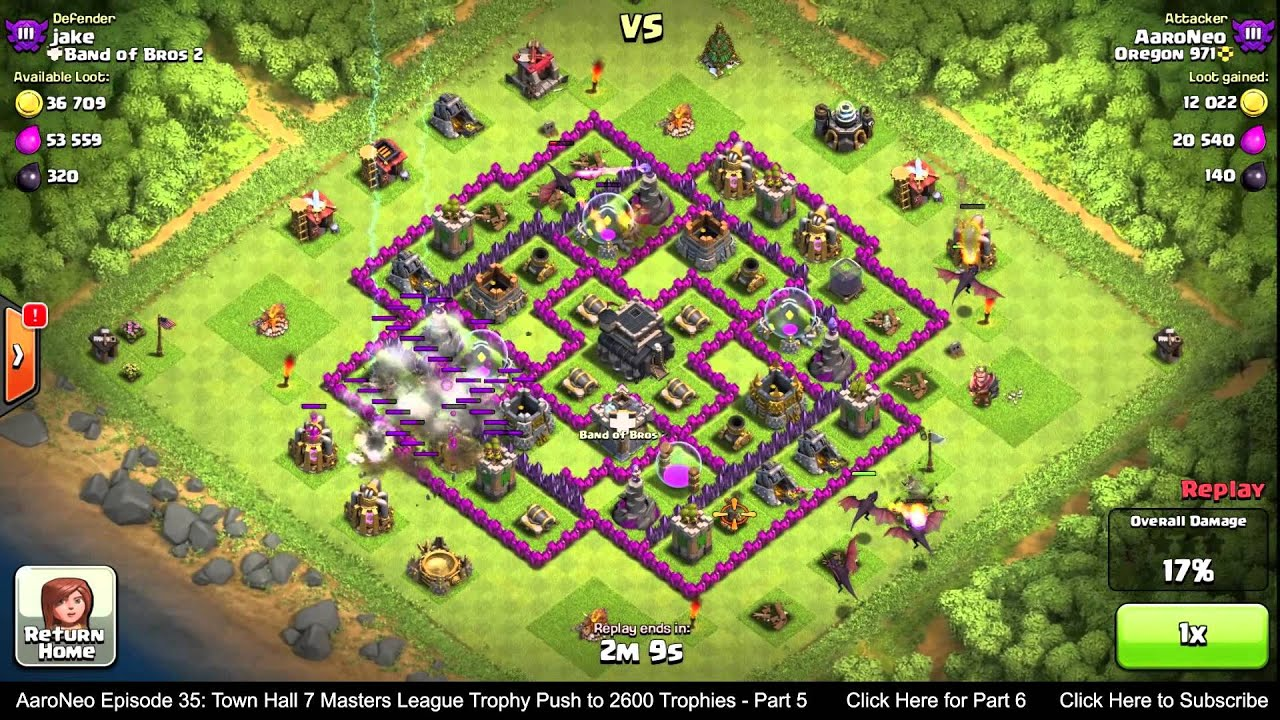level 5 dragons clash of clans attack strategy