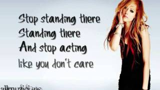 Watch Avril Lavigne Stop Standing There video