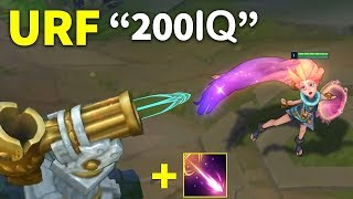 "10 Minutes of ""Best URF Fun Moments"" in LOL"