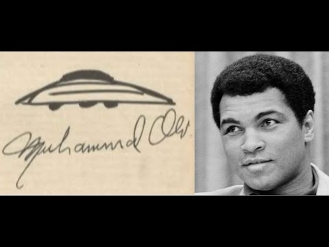 Muhammad Ali Had 16 + UFO Sightings in His Lifetime