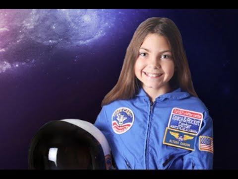 La bambina astronauta che la NASA prepara per viaggiare su Marte.