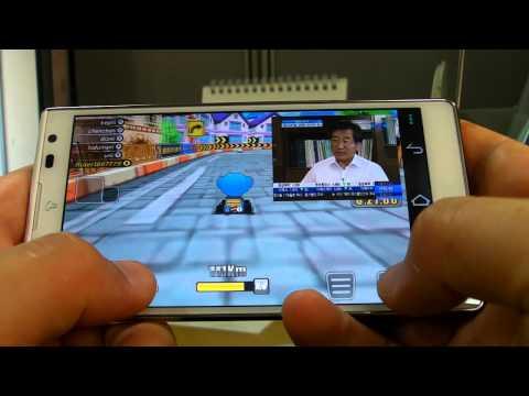 팬택 베가 S5 - 팝업 플레이 / 카트와 DMB 시청 동시에!