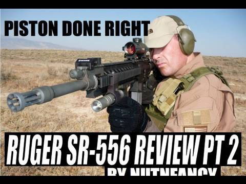 Ruger SR-556 review by Nutnfancy. Pt 2