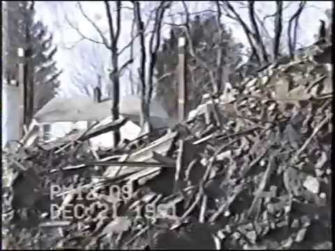 Laurel Cable Network's coverage on the December 19, 1991 fire that destroyed Avondale Mill. This footage shows the immediate aftermath of the fire, and remov...