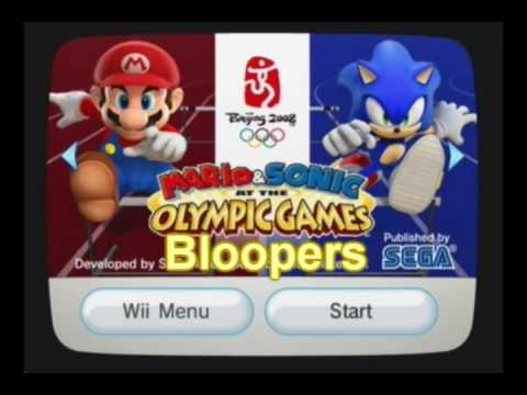 Mario & Sonic at the Olympic Games Bloopers: Fowl Play