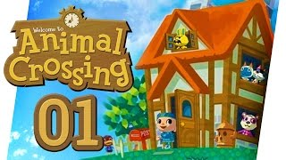 WIE ALLES BEGANN ♥ ANIMAL CROSSING • #01 • LET'S PLAY ANIMAL CROSSING