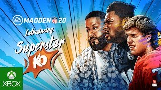 Madden NFL 20 | Official Superstar KO Trailer