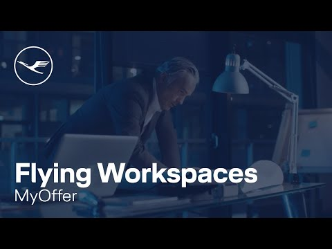 Lufthansa myOffer: Flying Workspaces