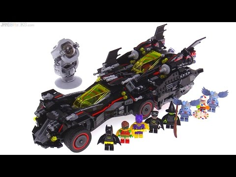 LEGO Batman Movie Ultimate Batmobile review! 70917