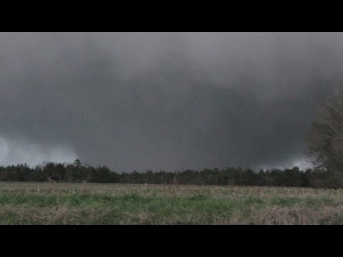 Huge Tornado In McMullen, Alabama - 2/2/2016