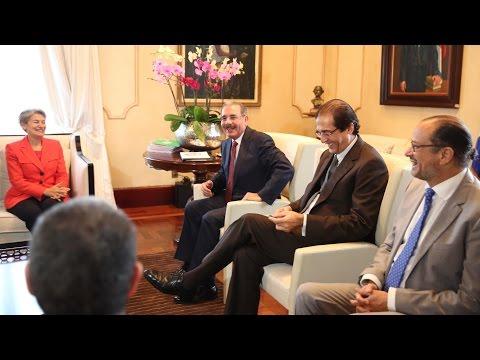Directora UNESCO resalta enorme empeño de  RD en superar analfabetismo