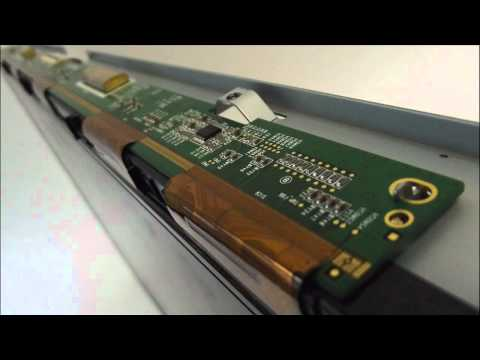 LCD TV Fault Repair Diagnostics - Vertical Band