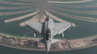 Eurofighter Typhoon in Dubai 2009