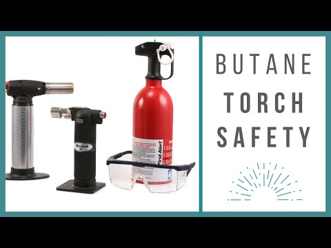 Butane Torch Safety - Beaducation video