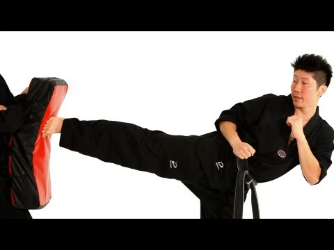 How to Do a Side Kick | Taekwondo Training Image 1