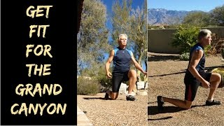 How to get fit🏋️‍♂️ for hiking/backpacking the Grand Canyon