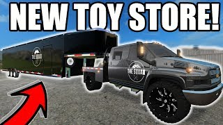 FARMING SIMULATOR 2017 | SETTING UP A BRAND NEW TOY STORE WITH NEW SEMIS & TOYS