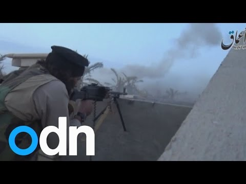 Watch: 'Islamic State forces' march into Ramadi after seizing the Iraqi city
