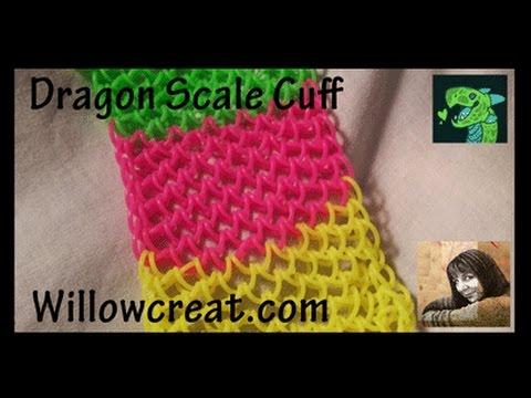 Dragon Scale Cuff by * ORIGINAL DESIGNER * Cheryl Mayberry Revised