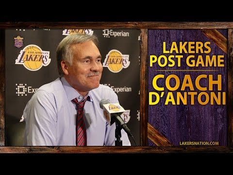 Lakers Vs. Thunder: Mike D'Antoni On Jodie Meeks' 42 Point Performance, Kent Bazemore