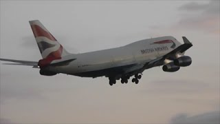 Evening Heavies at London Heathrow Airport | 31/07/14