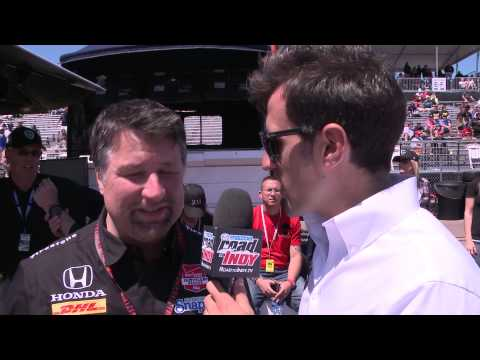 Road to Indy TV - Michael Andretti, Team owner of Andretti Autosport, Grand Prix of St Petersburg